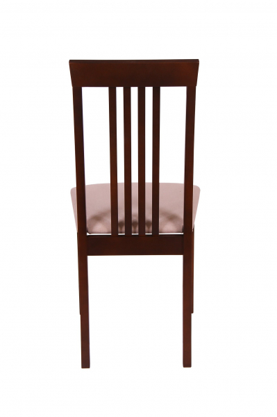 Set 2 scaune Wooden, Lemn, Nut/Misty beige 4