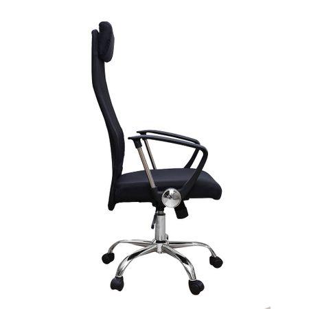Scaun de birou ergonomic HERTZ, mesh/textil, negru 2
