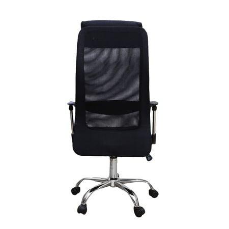 Scaun de birou ergonomic HERTZ, mesh/textil, negru 3