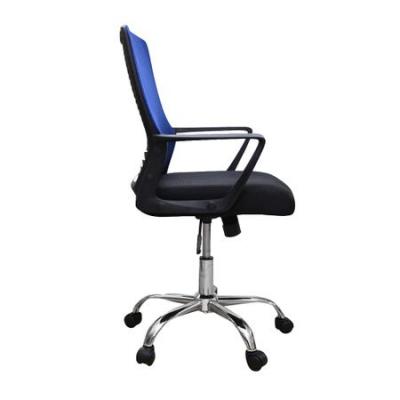Scaun de birou ergonomic HEXI, mesh, negru/albastru [2]