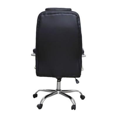 Scaun de birou directorial GARCON, piele ecologica, negru3