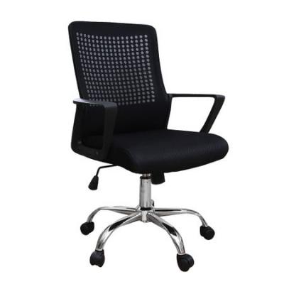 Scaun de birou ergonomic HEXI, mesh, negru [0]