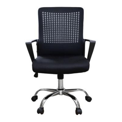Scaun de birou ergonomic HEXI, mesh, negru [1]