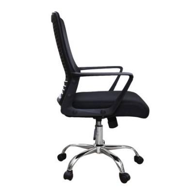 Scaun de birou ergonomic HEXI, mesh, negru [2]
