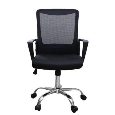 Scaun de birou ergonomic CANNES, mesh, negru1