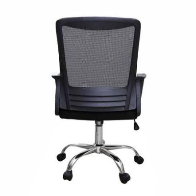 Scaun de birou ergonomic CANNES, mesh, negru3