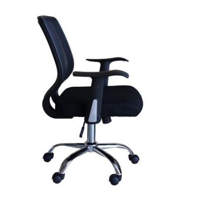 Scaun de birou ergonomic MAMBA, Mesh/Textil, Negru2