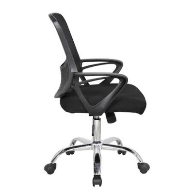 Scaun de birou ergonomic GRAVO, Negru, Mesh/Textil2