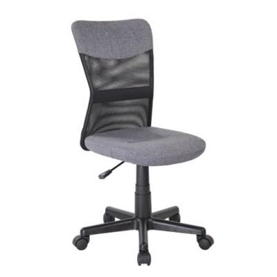 Scaun de birou CHEAP, textil+mesh, gri/negru [0]