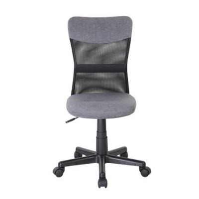 Scaun de birou CHEAP, textil+mesh, gri/negru [1]