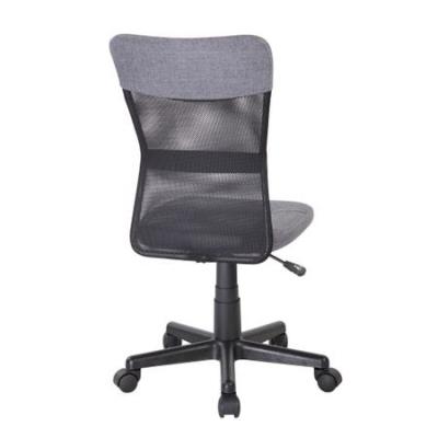 Scaun de birou CHEAP, textil+mesh, gri/negru3