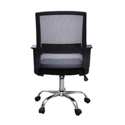 Scaun de birou ergonomic VEKTOR, mesh, negru/gri [3]