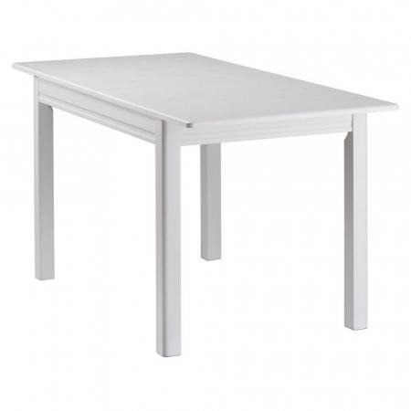 Masa de bucatarie extensibila BREFY, 115(155)*75 cm, White [1]