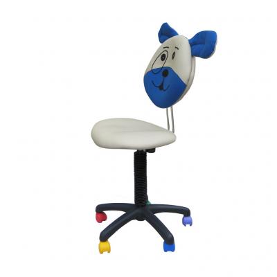 Scaun copii DOGGY, Gri-albastru stofa microsolco1
