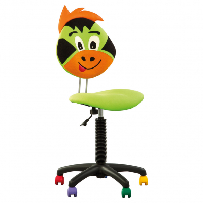 Scaun copii FLAMES, Verde stofa microsolco [1]