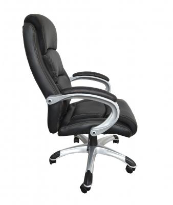 Scaun de birou ergonomic OPTIMAL, PU, Negru1