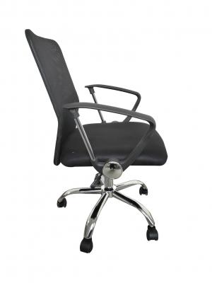 Scaun de birou ergonomic SHAN, Mesh, Negru [2]
