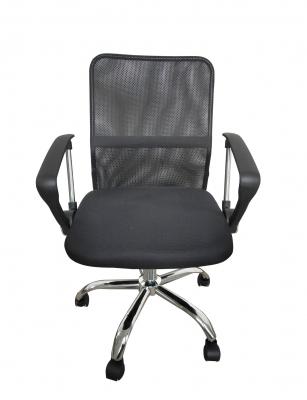 Scaun de birou ergonomic SHAN, Mesh, Negru [0]