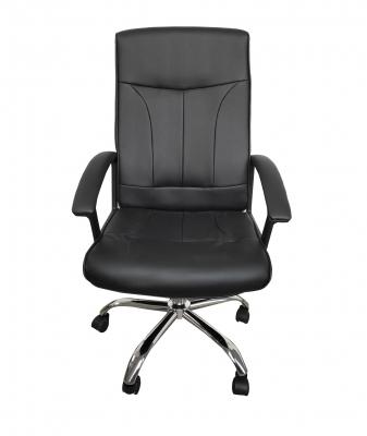 Scaun de birou ergonomic VITO, PU, Negru0