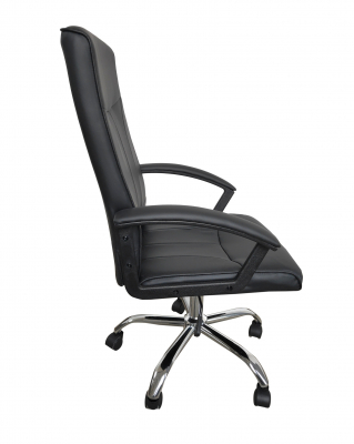 Scaun de birou ergonomic VITO, PU, Negru1