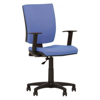 Scaun de birou FIVE GTR, Albastru deschis stofa lusso [0]