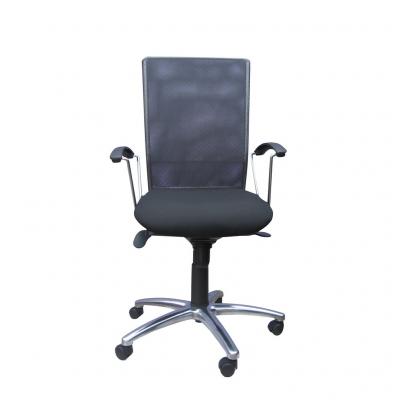 Scaun de birou FUTURE, Negru-gri stofa fiji0