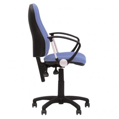 Scaun de birou OFFICE GTP, Albastru deschis stofa fiji2