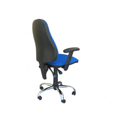Scaun de birou OFFICE GTR CHROME, Safir stofa fiji1