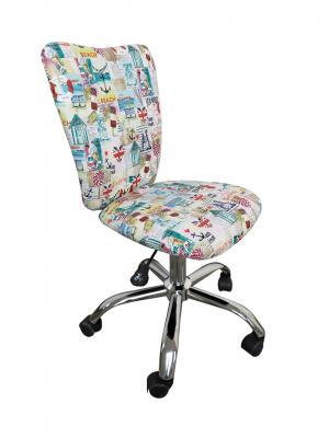 Scaun de birou pentru copii SHAPE, Stofa cu motive marine0