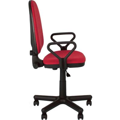 Scaun de birou PRIVILEGE GTP, Rosu-negru stofa cagliari2