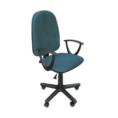 Scaun de birou PRIVILEGE II GTP, Albastru canar-negru stofa cagliari0