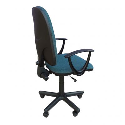 Scaun de birou PRIVILEGE II GTP, Albastru canar-negru stofa cagliari2