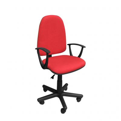 Scaun de birou PRIVILEGE II GTP, Rosu-negru stofa cagliari1