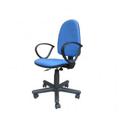 Scaun de birou SATURN GTP, Albastru deschis stofa fiji1