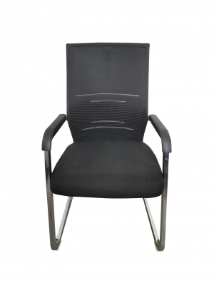 Scaun de vizitator ergonomic TORONTO CF, Negru1