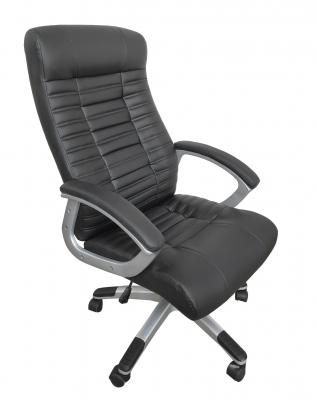 Scaun directorial ergonomic RISTO, PU, Negru1