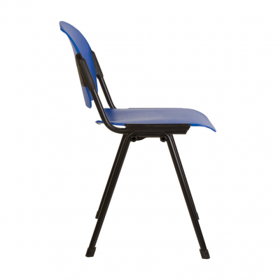 Scaun vizitator DELHI Black Plast, Albastru [2]