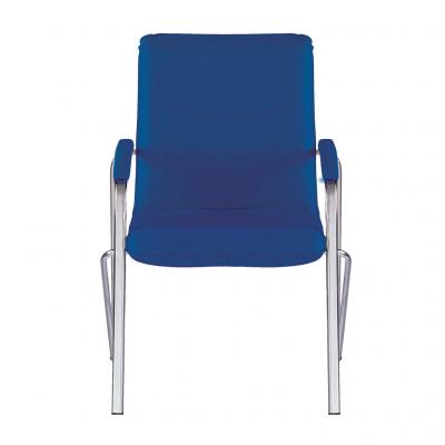 Scaun vizitator MULLER Soft, Albastru stofa zesta1