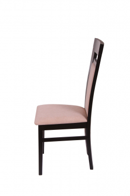 Set 2 scaune Amalfi, Lemn, Wenge/Misty beige [3]