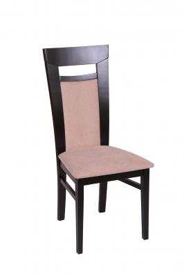 Set 2 scaune Amalfi, Lemn, Wenge/Misty beige [1]