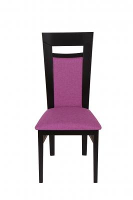 Set 2 scaune Amalfi, Lemn, Wenge/Savannah lilac2