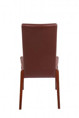 Set 2 scaune Braga, Lemn, Nut/Bum 12 [3]