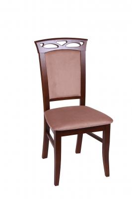 Set 2 scaune Fiona, Lemn, Nut/Aya Nougat [1]