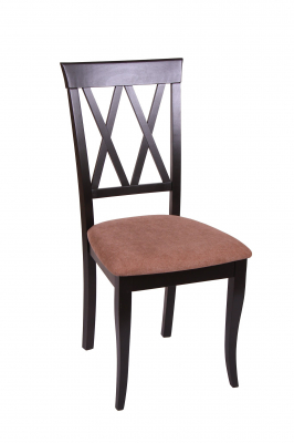 Set 2 scaune Milano, Lemn, Wenge/Misty light brown [1]