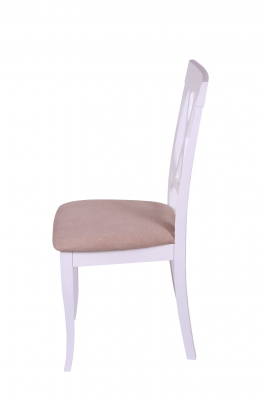 Set 2 scaune Milano, Lemn, White/Misty Beige [3]
