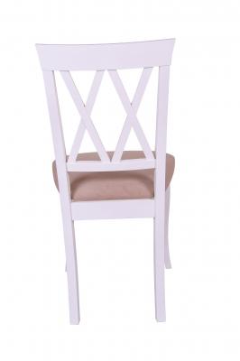 Set 2 scaune Milano, Lemn, White/Misty Beige [4]