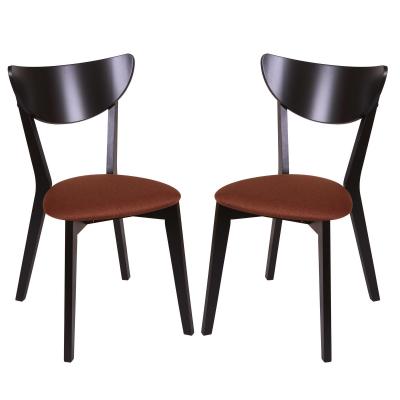 Set 2 scaune NEO, Lemn, Wenge/Bonus New Brown0