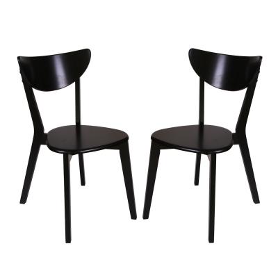 Set 2 scaune Neo T, Lemn, Wenge0