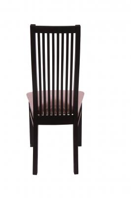 Set 2 scaune Puerto, Lemn, Wenge/Regent plain 03 [4]
