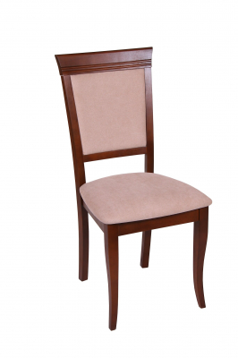 Set 2 scaune ROMA, Lemn, Nut/Misty beige [1]